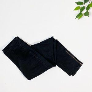 BDG Black Ankle Zip High Rise Skinny Pant